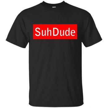 suh dude shirt supreme - black