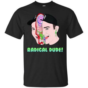 getter radical dude shirt - black