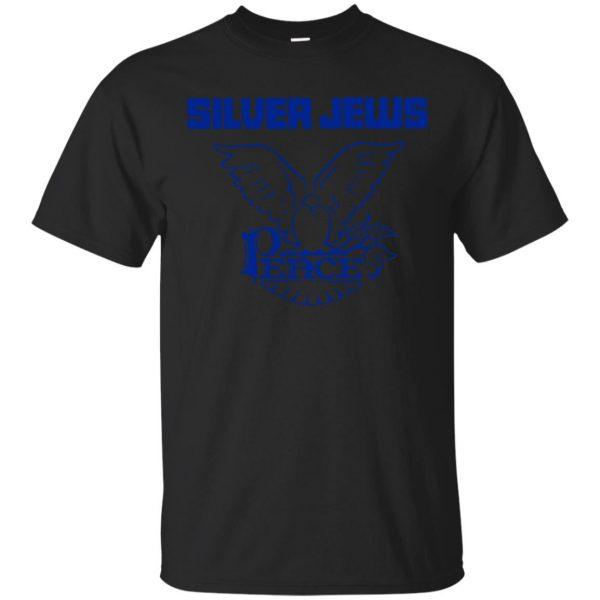silver jews shirt - black