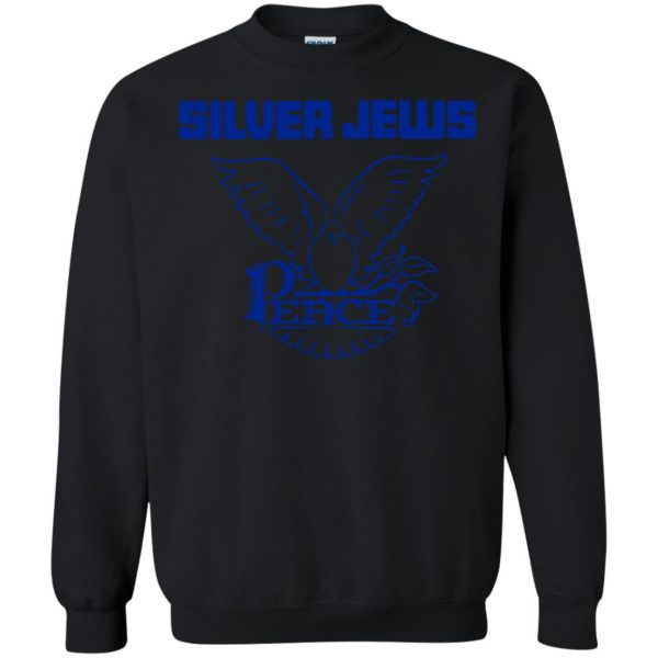 silver jews sweatshirt - black