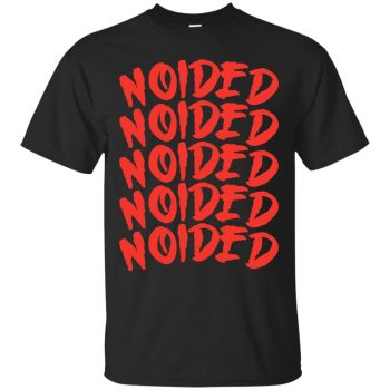 noided shirt - black