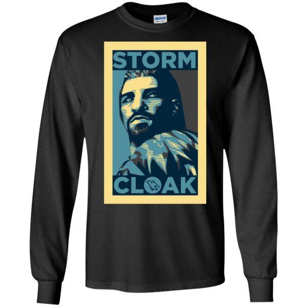 stormcloak long sleeve - black