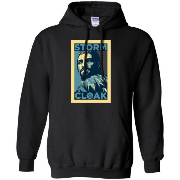 stormcloak hoodie - black