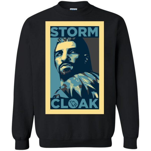 stormcloak sweatshirt - black