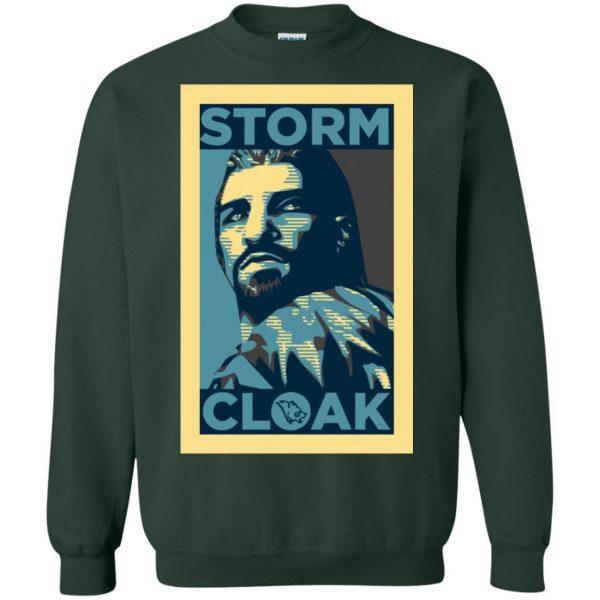 stormcloak sweatshirt - forest green