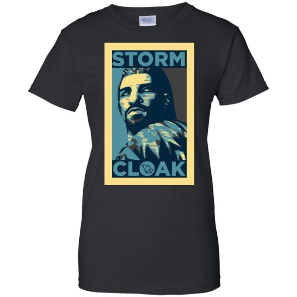 stormcloak womens t shirt - lady t shirt - black