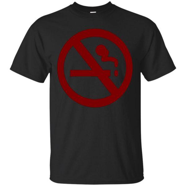 marceline no smoking shirt - black