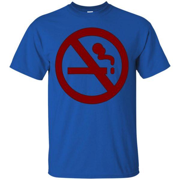 marceline no smoking t shirt - royal blue