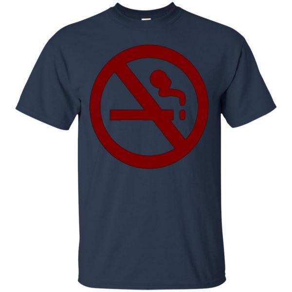 marceline no smoking t shirt - navy blue
