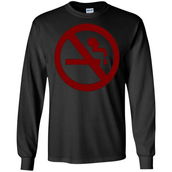 marceline no smoking long sleeve - black