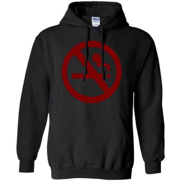 marceline no smoking hoodie - black