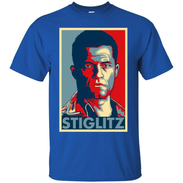 hugo stiglitz t shirt - royal blue