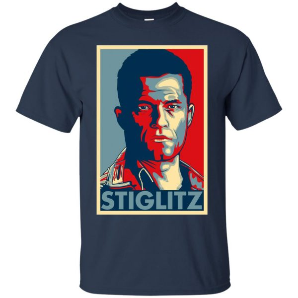 hugo stiglitz t shirt - navy blue
