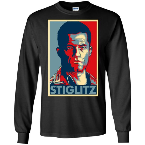 hugo stiglitz long sleeve - black