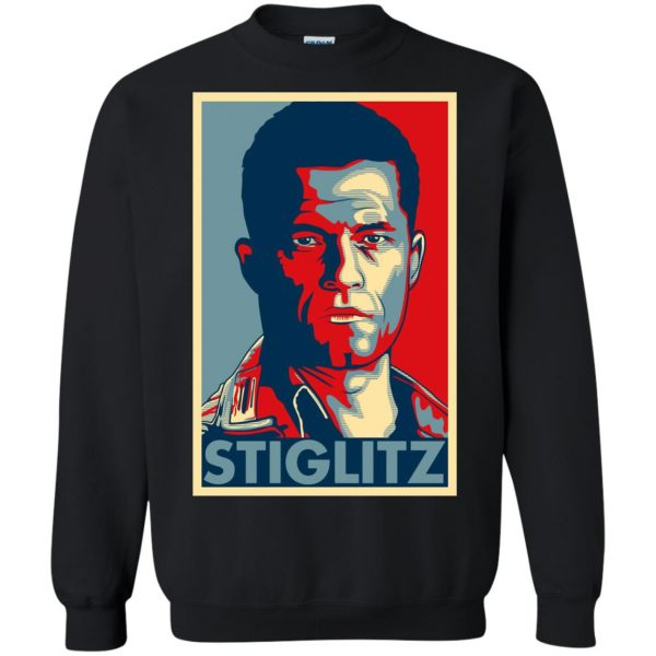 hugo stiglitz sweatshirt - black