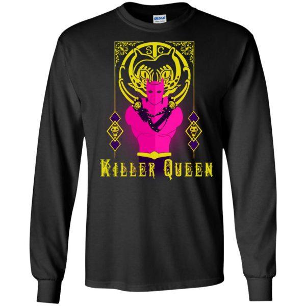 killer queen jojo long sleeve - black