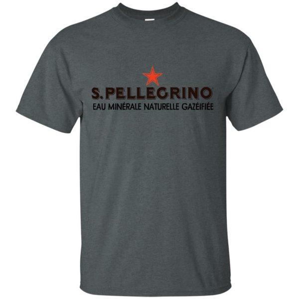 san pellegrino t shirt - dark heather