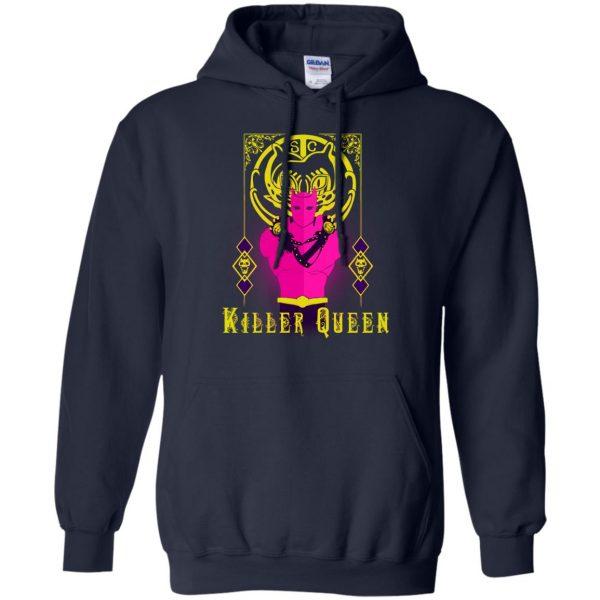 killer queen jojo hoodie - navy blue