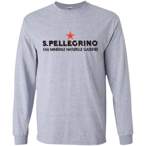 san pellegrino long sleeve - sport grey