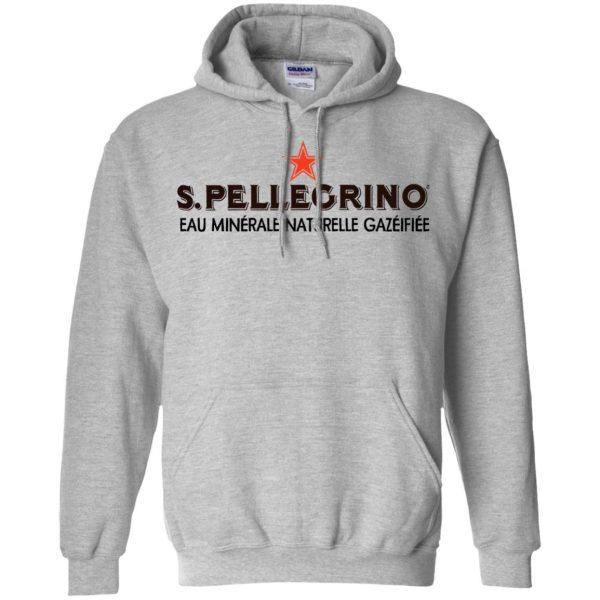 san pellegrino hoodie - sport grey