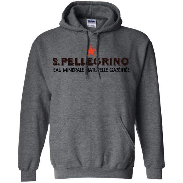 san pellegrino hoodie - dark heather
