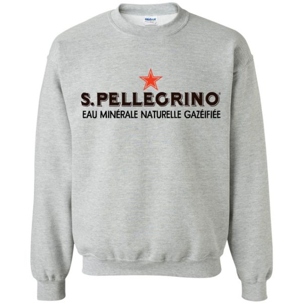san pellegrino sweatshirt - sport grey