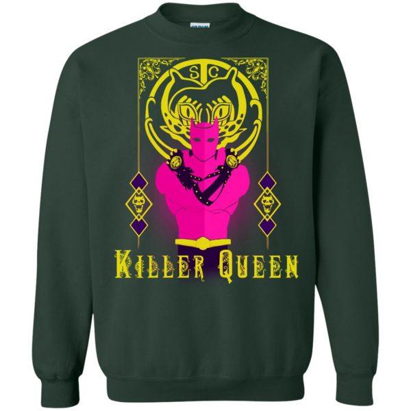 killer queen jojo sweatshirt - forest green