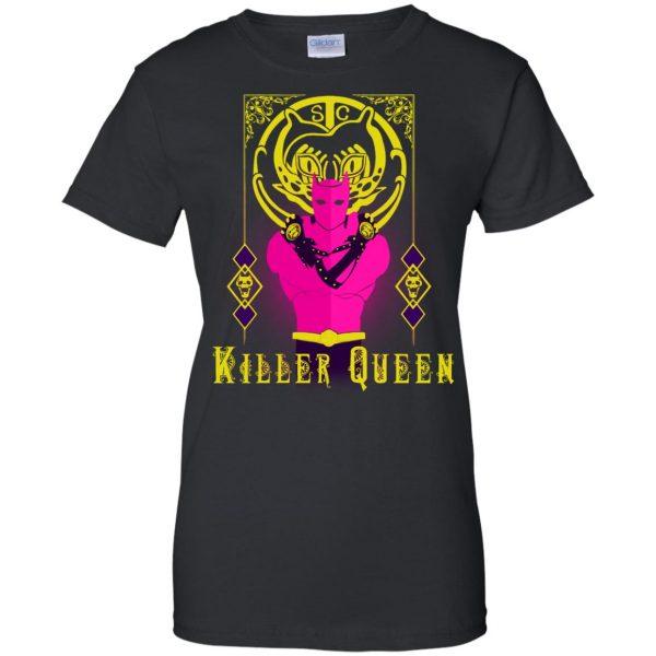 killer queen jojo womens t shirt - lady t shirt - black
