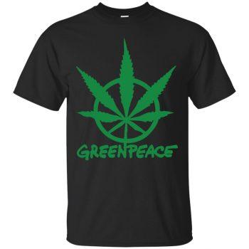 greenpeace sweatshirt - black