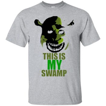 shrek is love shrek is life shirt - sport grey