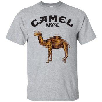 camel band shirt - sport grey