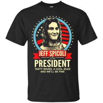 spicoli t shirts - black