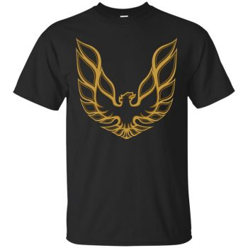 trans am shirt - black