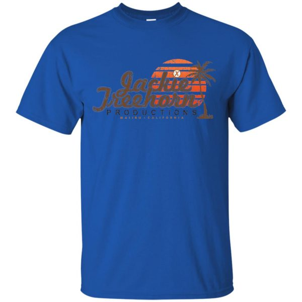 jackie treehorn t shirt - royal blue