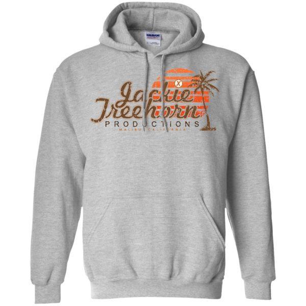 jackie treehorn hoodie - sport grey