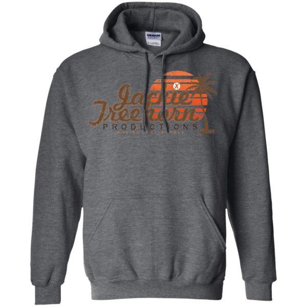 jackie treehorn hoodie - dark heather