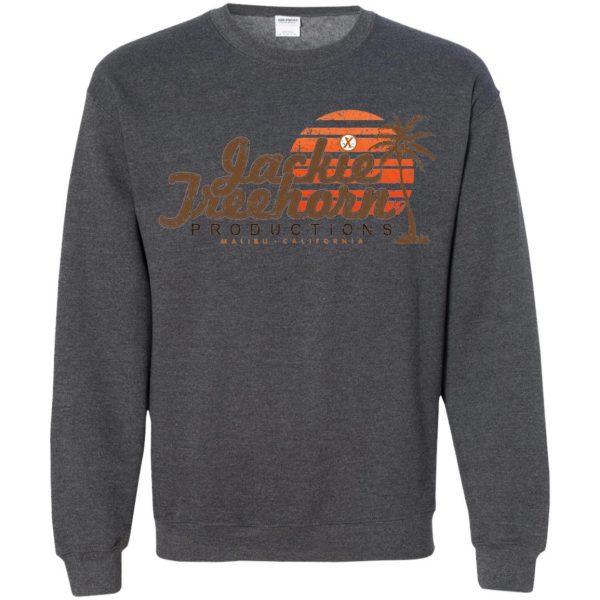 jackie treehorn sweatshirt - dark heather
