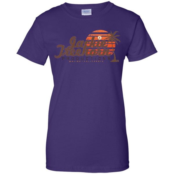 jackie treehorn womens t shirt - lady t shirt - purple