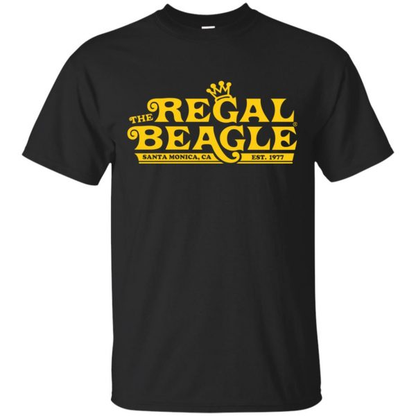 regal beagle shirt - black