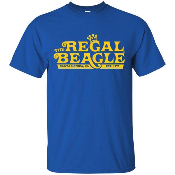 regal beagle t shirt - royal blue