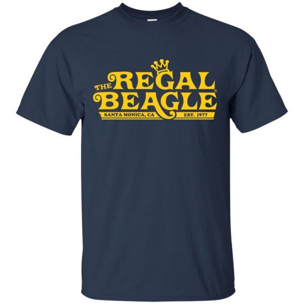 regal beagle t shirt - navy blue