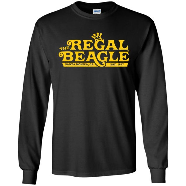 regal beagle long sleeve - black
