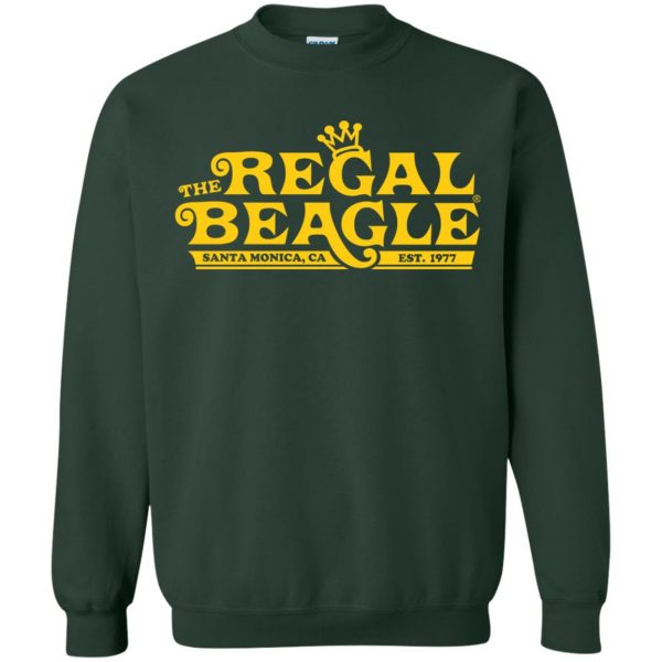 regal beagle sweatshirt - forest green