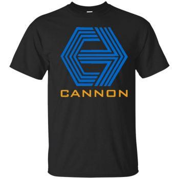 cannon films t shirt - black