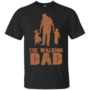 Walking Dad T-shirt - black