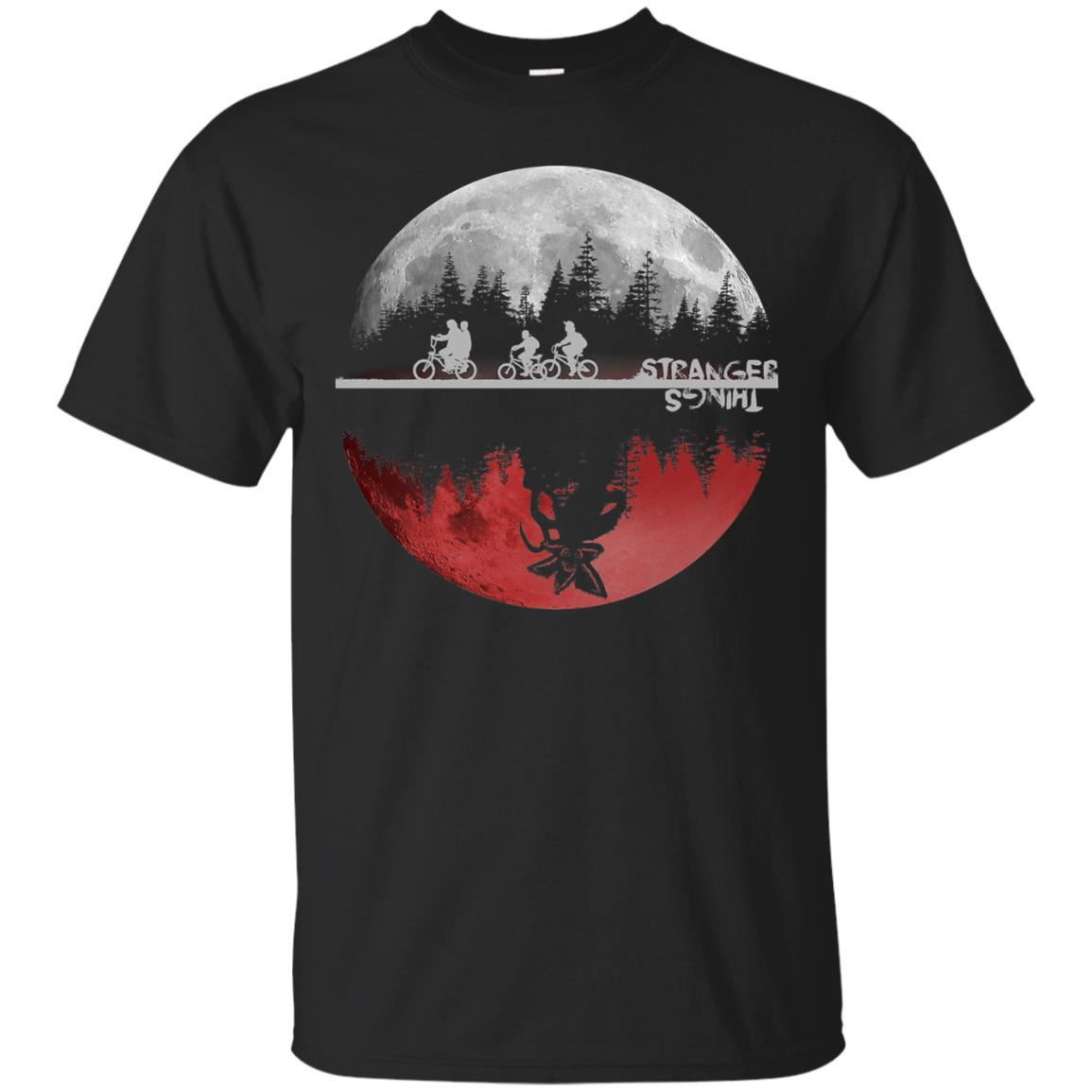 Stranger Moon T-shirt - black