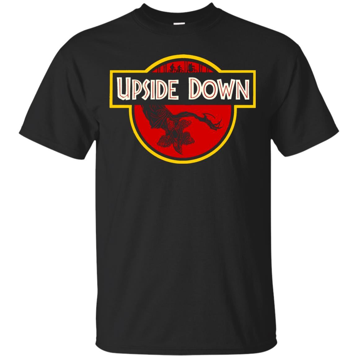 Upside Down T-shirt - black