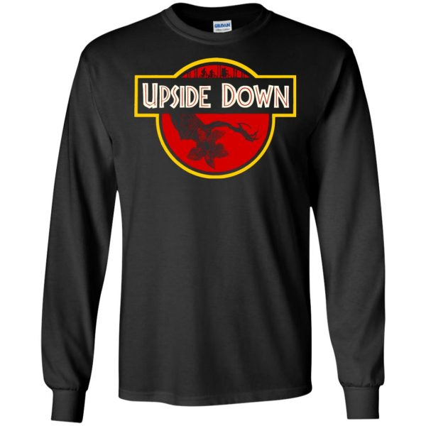 Upside Down long sleeve - black