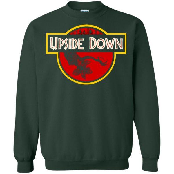 Upside Down sweatshirt - forest green