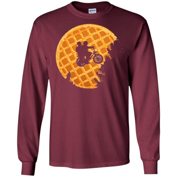 Mike and Eleven long sleeve - maroon